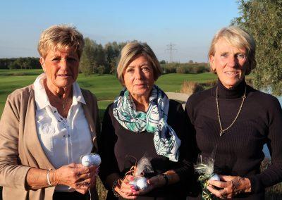 Winnaars Dames Herfsttoernooi 2017